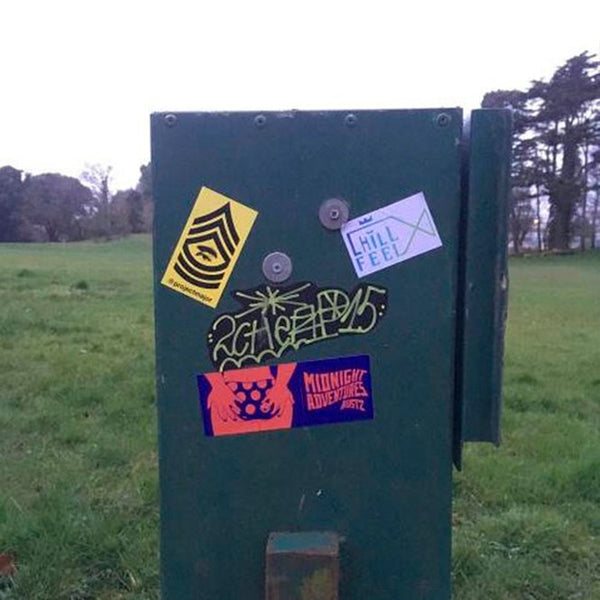 Swansea, UK Sticker Slaps