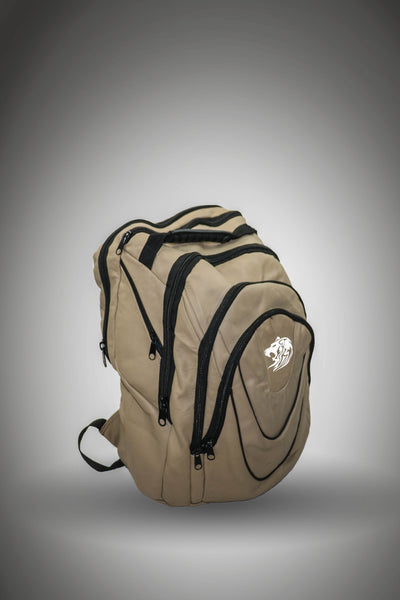 WHITE LION OPEROSE BEIGE BACKPACK