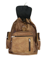 WHITE LION EXPLORUS MUESLI BROWN BACKPACK - White Lion Apparel