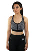 Spero Grey Sports Bra - White Lion Apparel