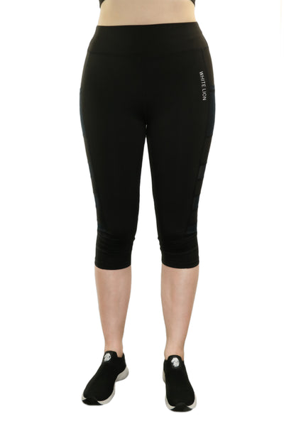 Gaudium Capris Leggings - White Lion Apparel