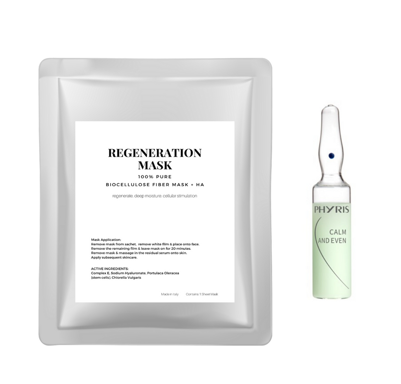 DIY Facial Kit (Regeneration Mask + Phyris Ampoule)