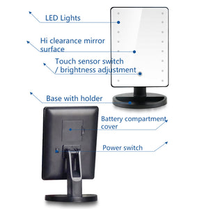 LED Makeup Mirror - features