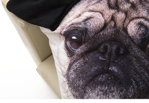 Cute Pug Pillow Case