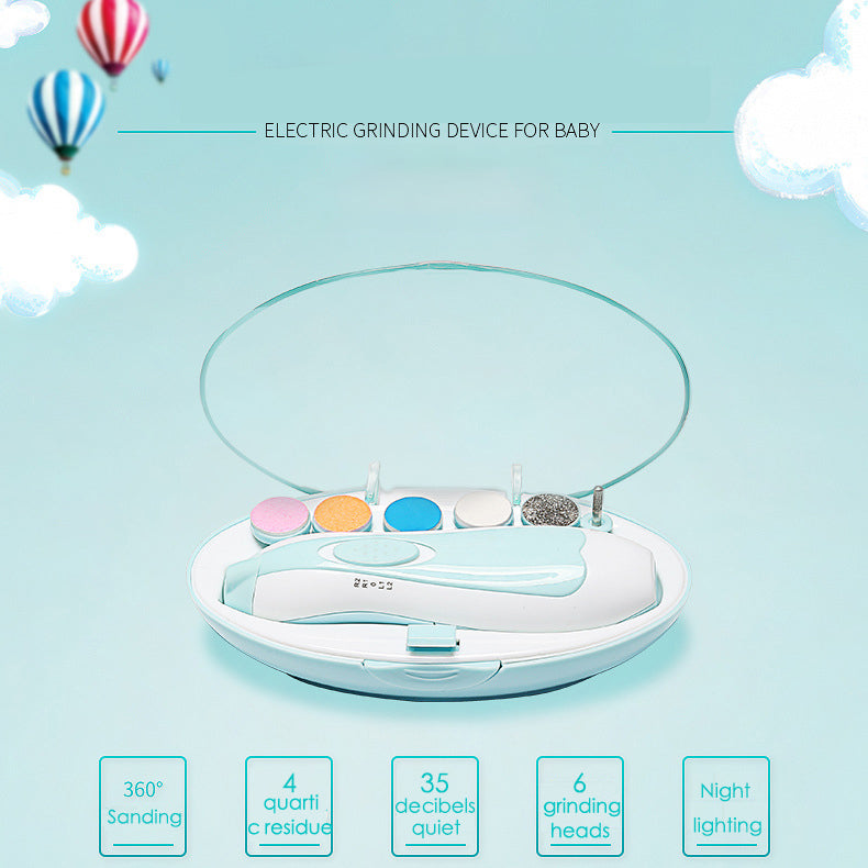 Baby Automatic Nail Trimmer features