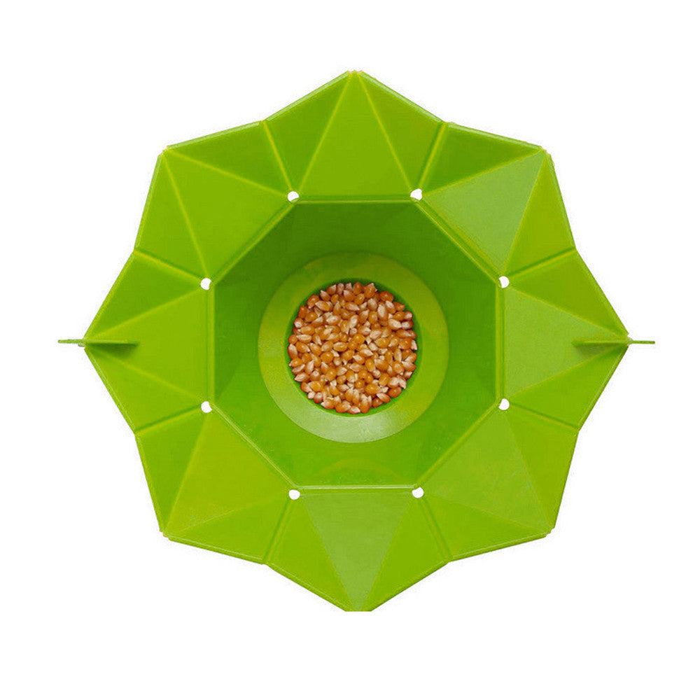 Microwave Popcorn Popper - green