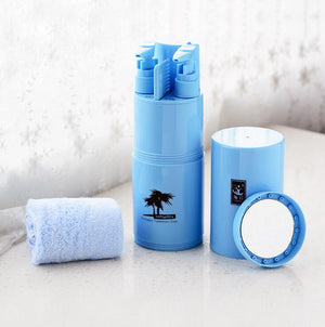 Blue 8 in 1 Travelling Cup