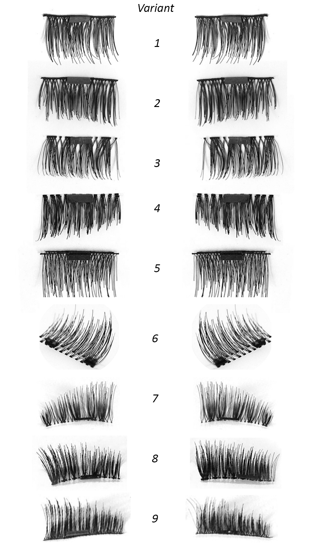 Magnetic Fake Eyelashes - variant