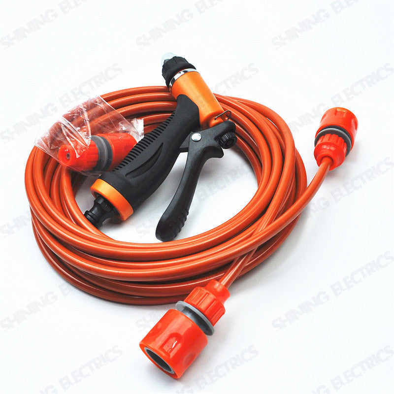 image of high pressure car washer water pipe