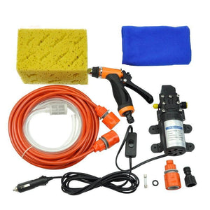 image of high pressure car washer