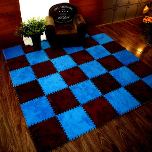 Fluffy Puzzle Mats