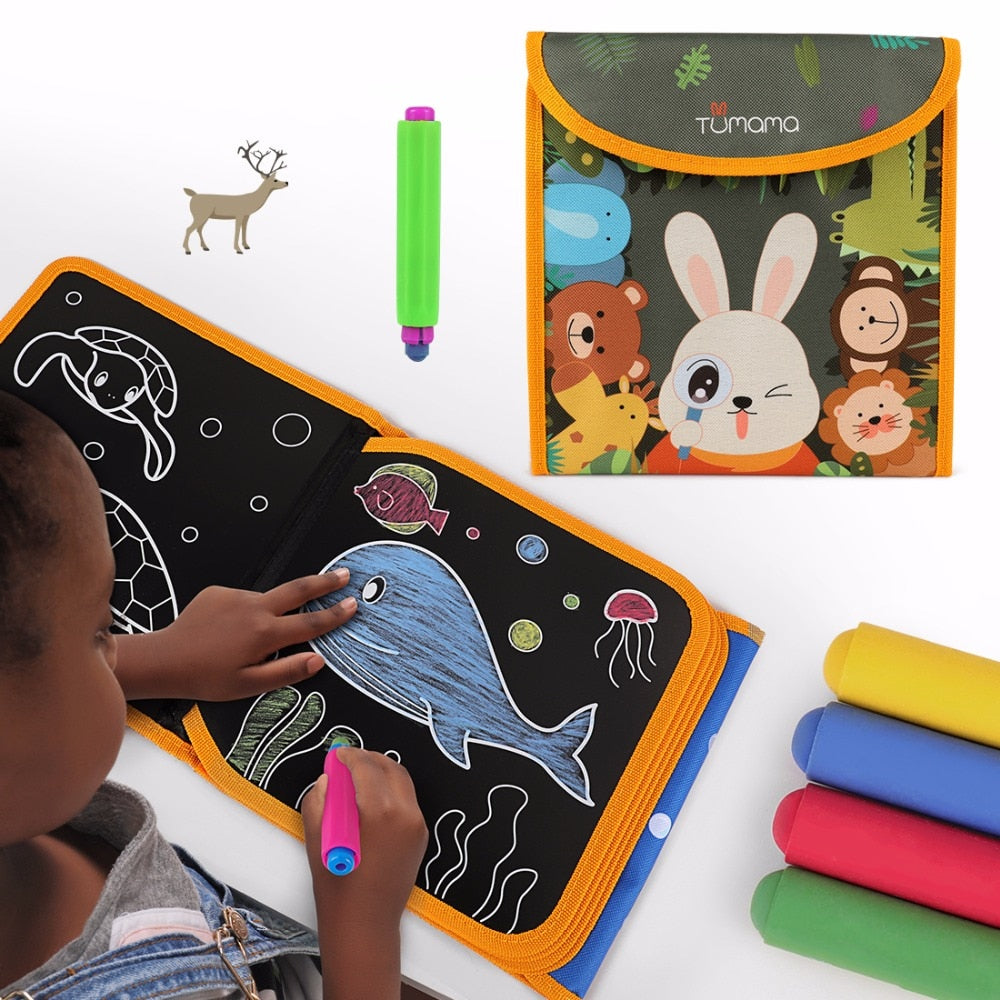 Soft Chalk Board Drawing Book