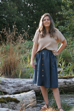The Skirt - Heavy Linen