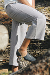 The Wanderer Wide Leg Slacks - Linen