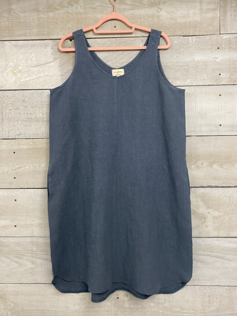 The Winona Sheath Dress - Antique Linen