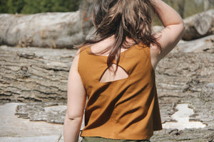The Tank - Raw Silk *Please see sizing change information below*