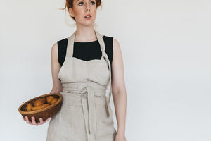 The Apron - Linen Organic Cotton