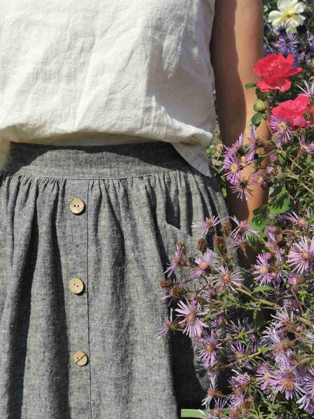 The Skirt - Hemp Organic Cotton