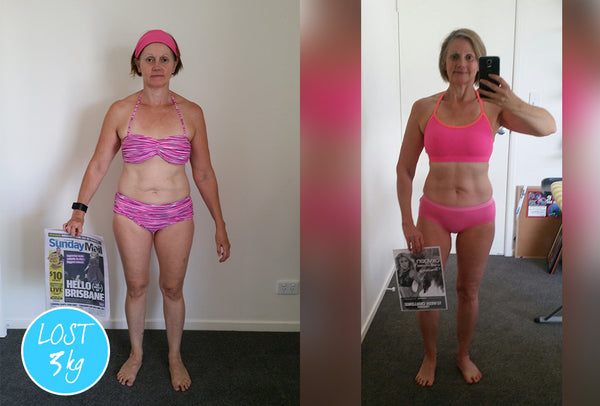 Cheryl ~ I'm 50 this year and I'm in the best shape of my life!