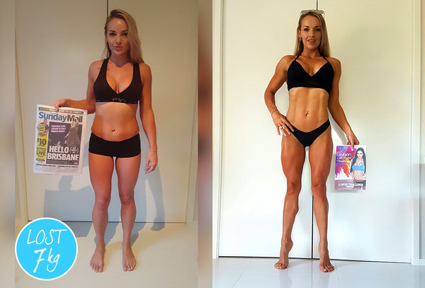 Rebecca ~ It all changed once I stopped dieting and changed my approach...