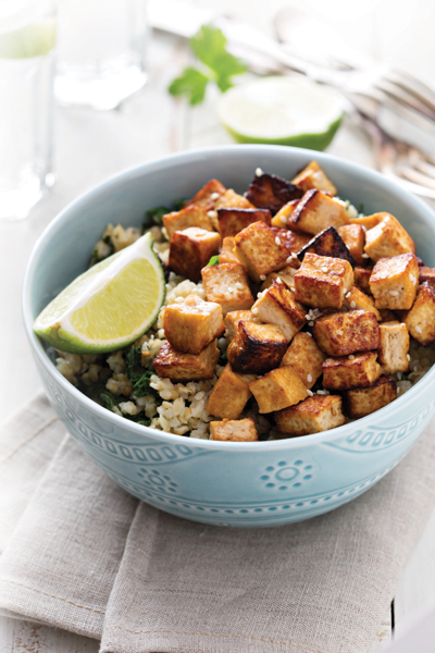 TOFU COLLARD STIR-FRY