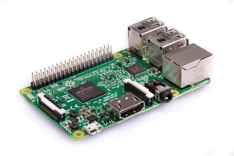 Raspberry Pi 3 Model B, 1.2 GHz, 1GB RAM, 64Bit - braspi
