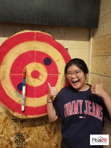 Bullseye - Peak Axe Throwing - Revelstoke B.C