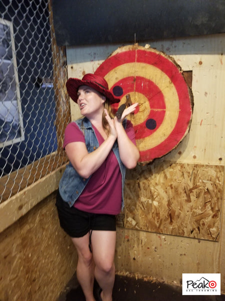 Axe Master - Peak Axe Throwing - Revelstoke B.C