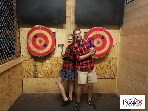 Peak Axe Throwing - Revelstoke B.C