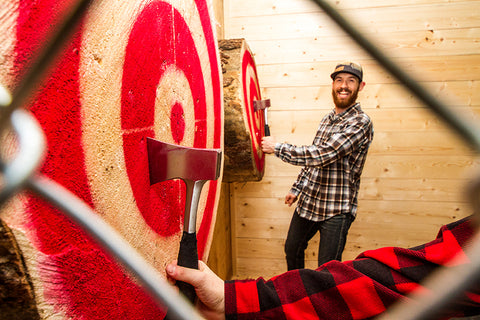 Dustin Roskam - Peak Axe Throwing Coach