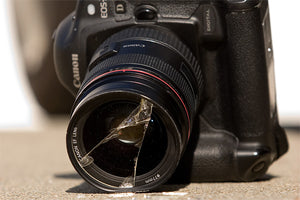 Why it's a bad idea to put tire wax on your lens and camera grips?