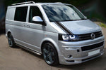 VW Transporter Camper Van Caravelle Stripes Graphics Bonnet Stickers T4 T5 Caddy