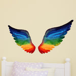 Large Angel Wings Wall Sticker - Interior Bedroom Wall Sticker / Decal (Fairy Princess)