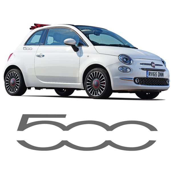 Fiat 500 Logo Stickers 500c Decal Side Abarth Sporting Graphic Stripe