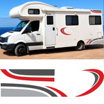 Large Motorhome / Camper Graphics Set 5
