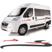 Large Motorhome / Camper Graphics Set 4