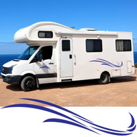 Large Motorhome / Camper Graphics Set 2