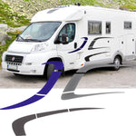 Large Motorhome / Camper Graphics Set 6
