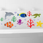 Finding Nemo Bathroom Fish Wall Stickers Art Decals Deco Kids Nursery Childrens
