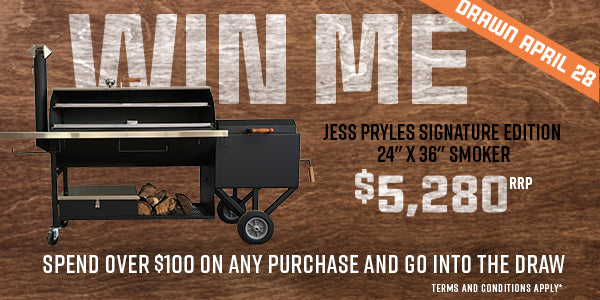 Win a Jess Pryles Signature Edition Smoker worth $5,280!