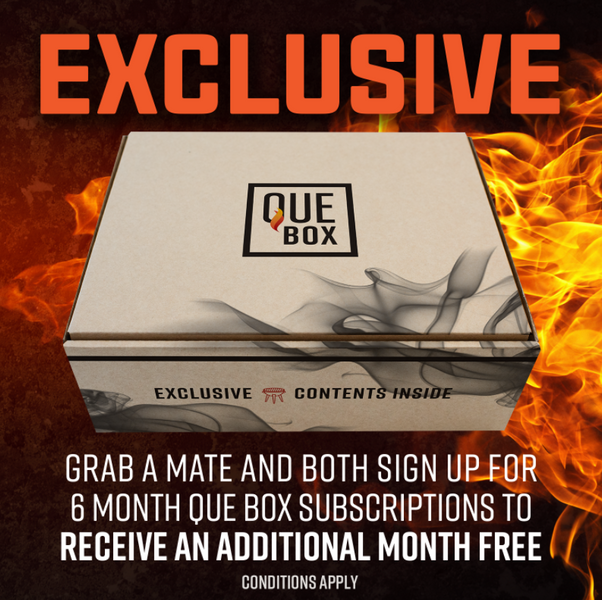 The Que Box Promotion
