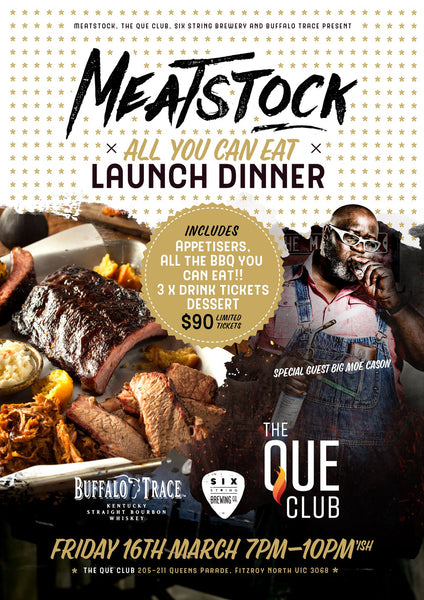 Meatstock Launch Party Dinner is Sold Out!