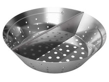 "Big Green Egg ""Stainless Steel Fire Bowl with Divider"" - Xlarge"