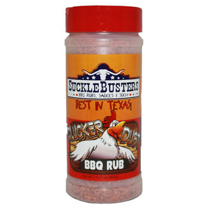 Sucklebusters Clucker Dust BBQ Rub 12oz