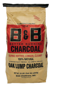 "B&B ""Oak"" Lump Charcoal 9kg"