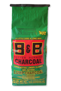 "B&B ""Hickory"" Lump Charcoal 9kg"