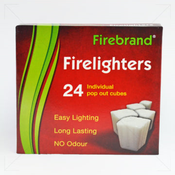 Firebrand Firelighters 24 Individual Pop Out Cubes