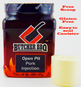 Butcher BBQ Open Pit Pork Injection