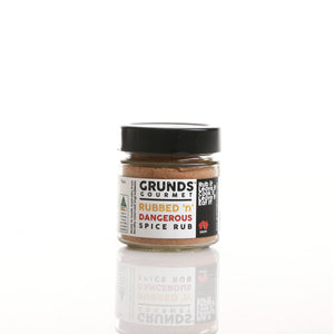 "Grunds Gourmet ""Rubbed 'n' Dangerous"" Spice Rub"
