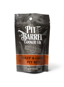 Pit Barrel Beef & Game Rub